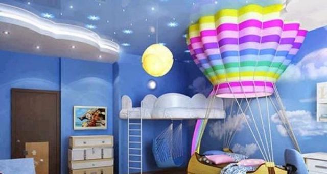 Установка освещения в натяжные потолки