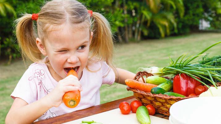 ТОП-10 обязательных продуктов в детском рационе