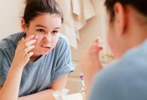 Полные девочки чаще страдают от угрей