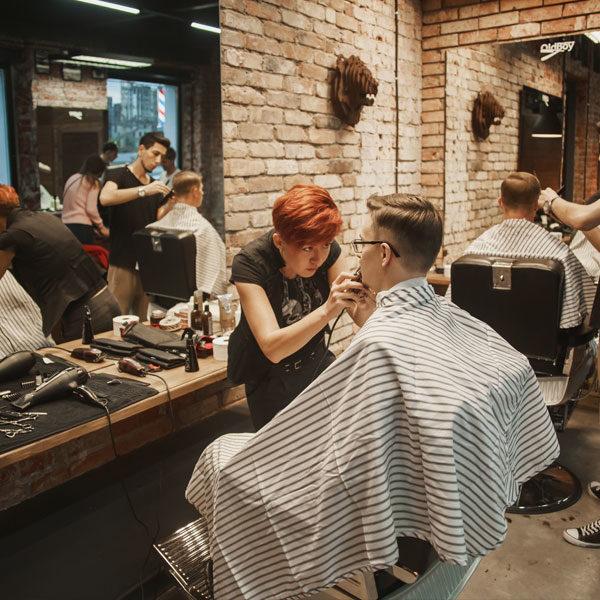 Мужская парикмахерская и проблемы современных мужчин