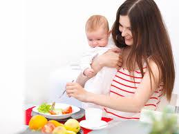 Диета кормящих матерей