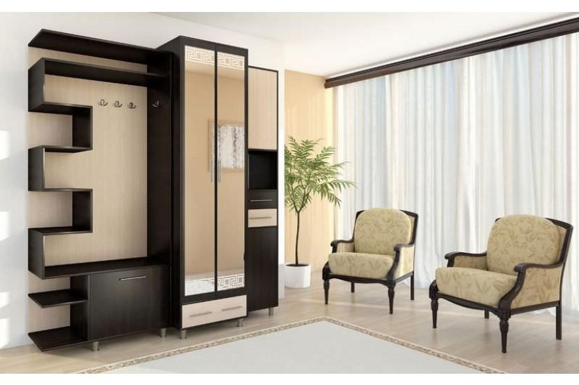 Мебель, сделанная на заказ — оптимальный вариант для маленькой прихожей
