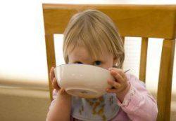Питание ребенка от года до трех лет