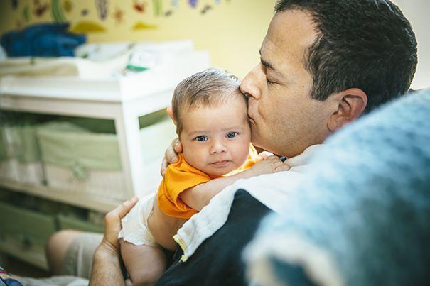 Папин малыш: связь между отцом и ребенком