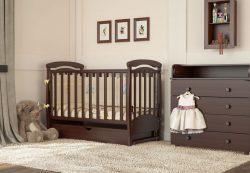 Кровать. Первая кроватка младенца