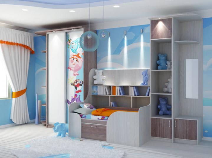 Где купить мебель для детской комнаты в Москве?