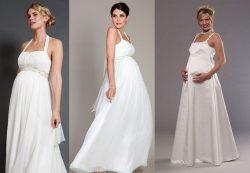 Как выбрать идеальное свадебное платье для беременной невесты?