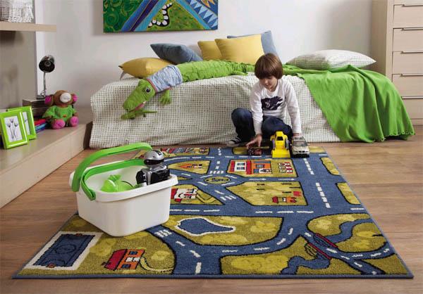Особенности ковров в детскую в интернет-магазине «Кover.ru»