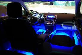 4 важных шага по выбору лучшего типа освещения для салона автомобиля