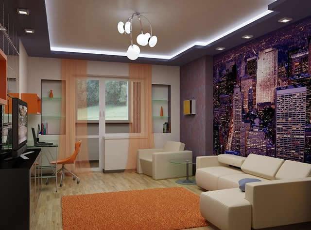 Элементы дизайна гостиной
