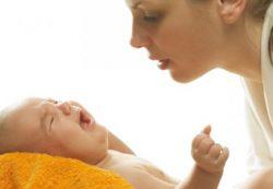 Предупреждение колик у новорожденного