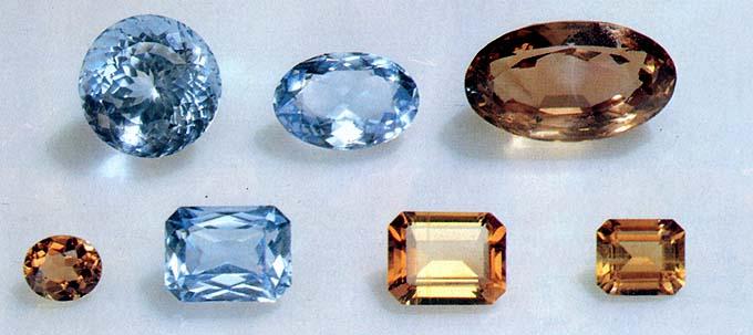 Виды и применение драгоценных камней