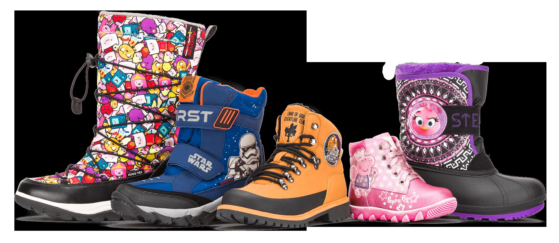 Удобная и качественная обувь для детей