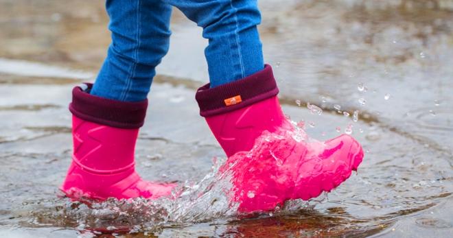 Детские резиновые сапоги – полезные советы для правильного выбора