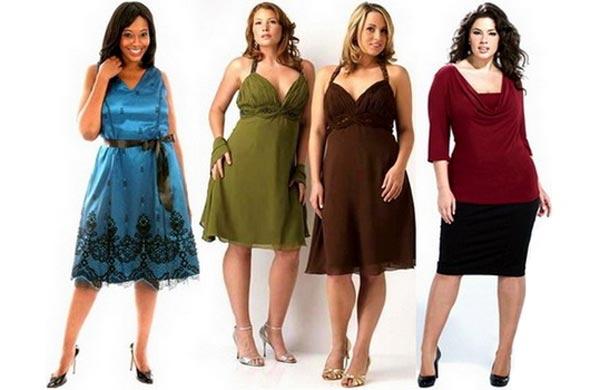 Мода для женщин пышных форм