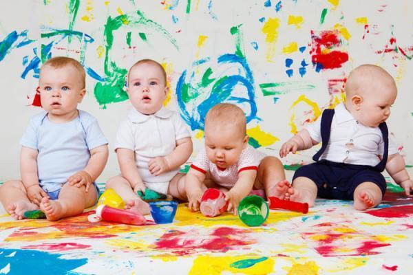 Раннее развитие ребенка рисованием