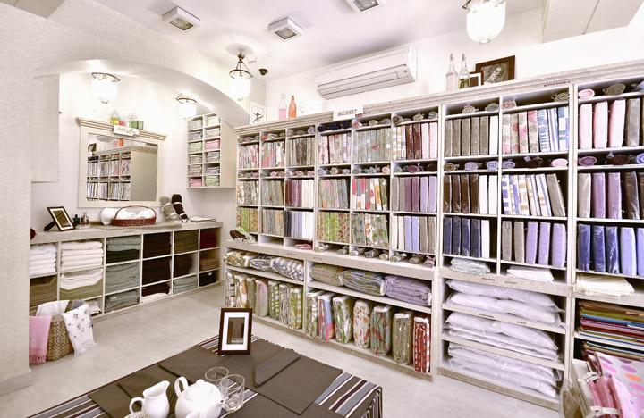 Концептуальный выбор домашнего текстиля