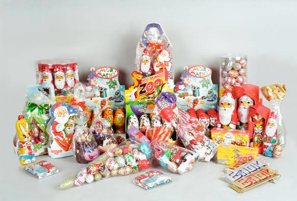 Подарки детские сладкие