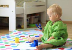 Как научить ребёнка рисовать?