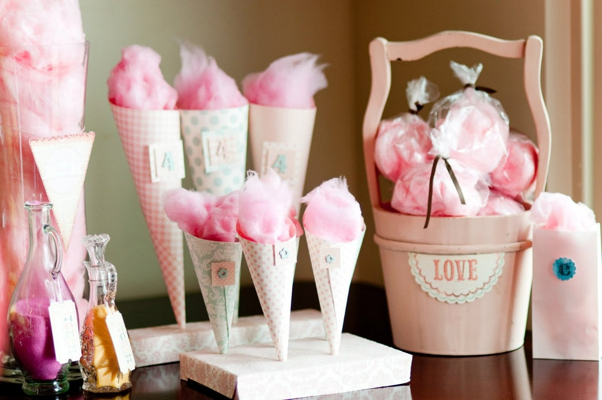 Аппарат для сладкой ваты как составляющая детского праздника.