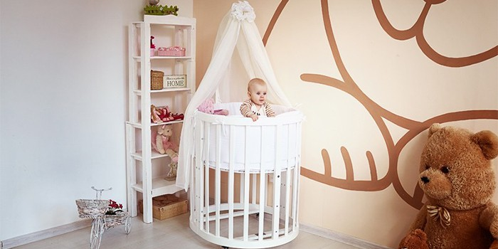 Как выбрать детскую кроватку для малышей — обзор лучших моделей с описанием