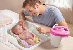 Водные процедуры для грудничков