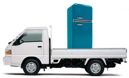 Перевозка холодильника в Киеве