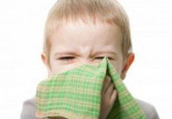 Зеленые сопли у ребенка