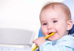 Питание ребенка в 7 месяцев – разнообразный и полезный рацион.