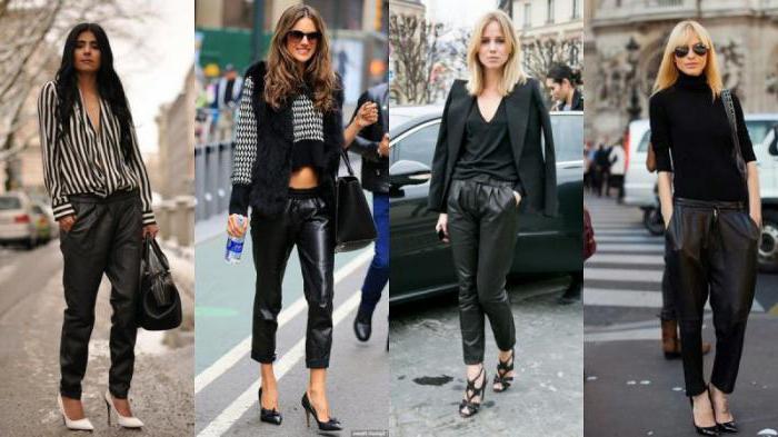 Как правильно носить широкие брюки