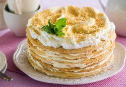 Рецепт приготовления самого вкусного торта «Наполеон»
