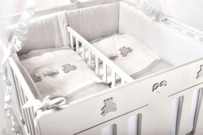 Кроватки для двойни