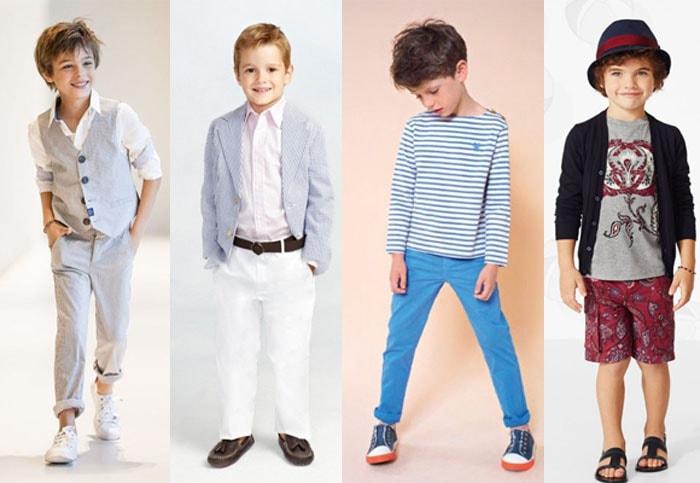 Весенняя мода для детей
