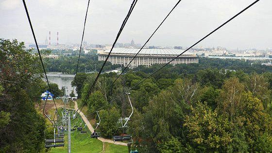 Самый обширный парк Москвы – Воробьевы горы