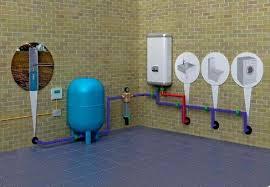 Устройство системы подачи воды в дом из колодца