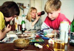 Алкоголизм в семье с детьми