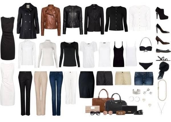 Базовый гардероб женщины