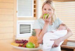 Правильное питание и рацион кормящей мамы