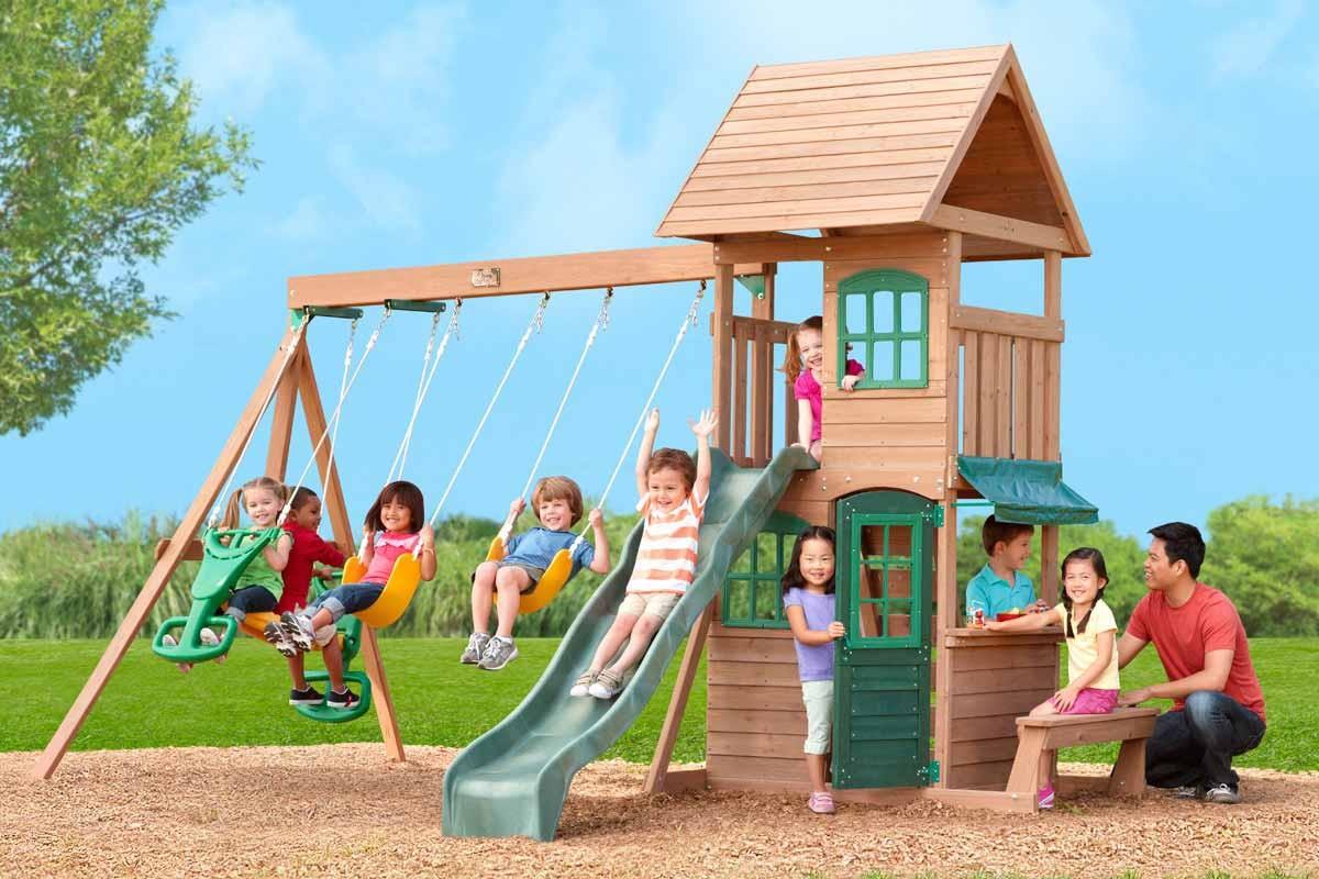 Детские игровые площадки – гармоничное физическое развитие ребенка с ранних лет