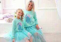 Стильная, элегантная и эксклюзивная одежда в стиле Family Look