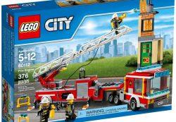 Набор Lego пожарные: пожары нам не страшны