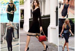 Французская элегантность и стиль. Аксессуары для маленького черного платья