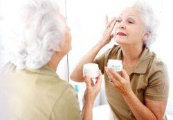 Косметические средства в пожилом возрасте