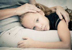 Сильный стресс у ребёнка
