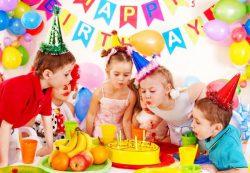 Как устроить веселый детский праздник и украсить детскую комнату