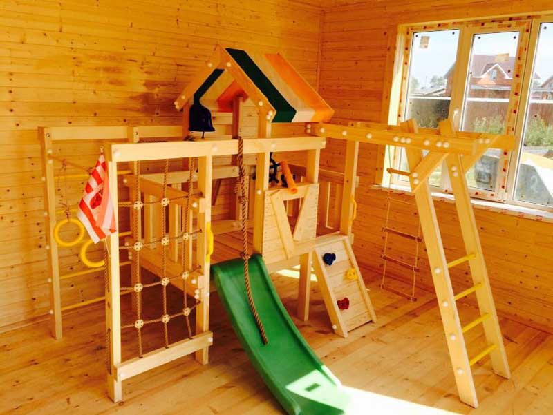 Захватывающий и увлекательный детский игровой комплекс
