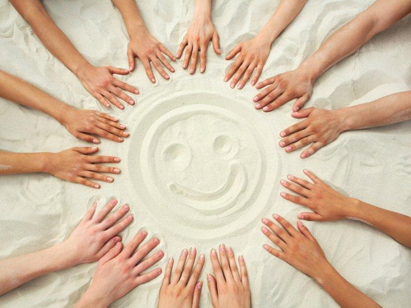 Песок — средство избавления от детских нервозов