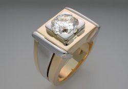 Золотое кольцо. Различные стили колец в 10 карат