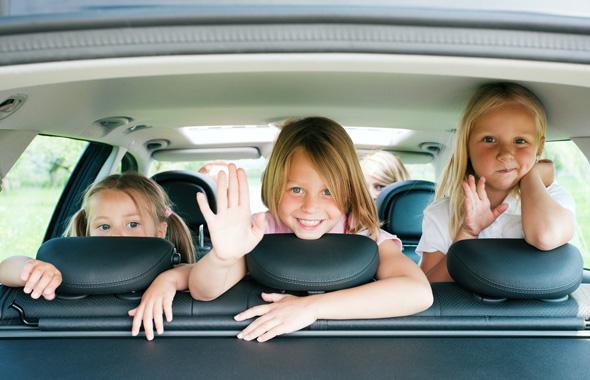 Путешествуем на машине с детьми
