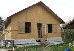 Строительство каркасно-щитовых домов: Достоинства технологии